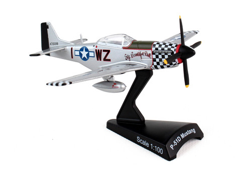 """Postage Stamp 1:100 P-51D Mustang """"Big Beautiful Doll"""""""