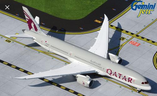 Gemini 1:400 Qatar Airways 787-9 A7-BHA