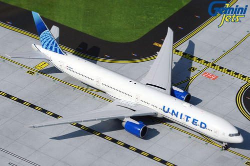 Gemini 1:400 United Airlines New Livery 777-300er