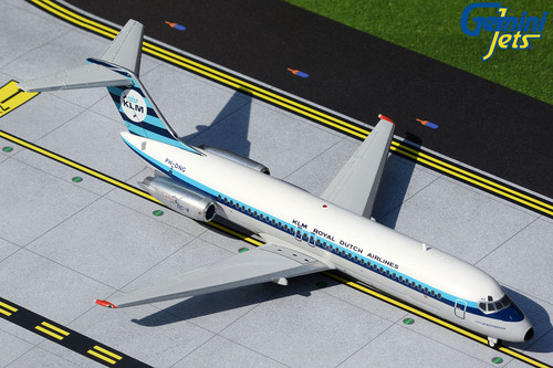 Gemini200 1:200 KLM DC-9-30 (1967 Delivery Colours) PH-DNG