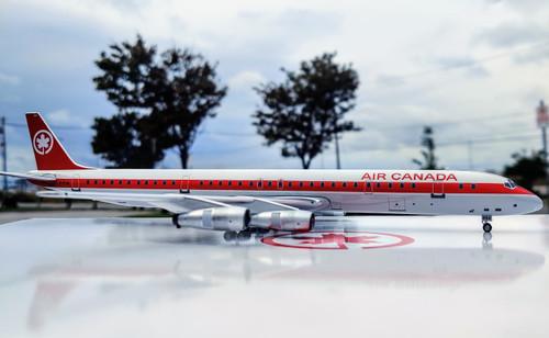 Aeroclassics 1:200 Air Canada DC-8-61 (80's Livery)