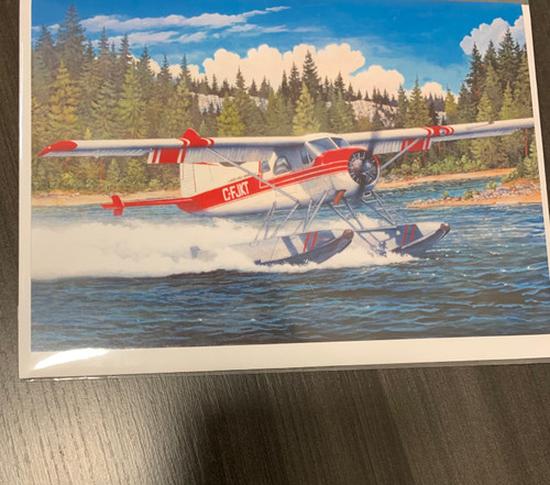 """Aviation Sea-plane"" Single Card"