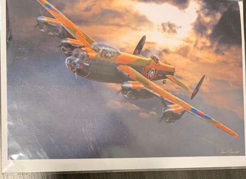 """Aviation Avro Lancaster"" Single Card"