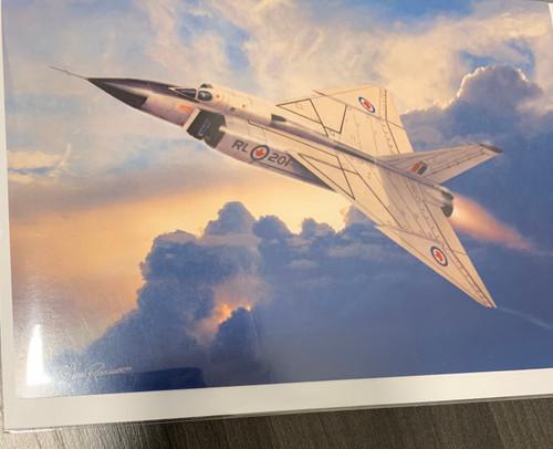 """Aviation Avro Arrow"" Single Card"