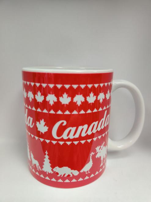 """Canada """"Printed Knit"""" Mug"""