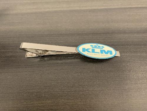 Silver KLM Tie Bar