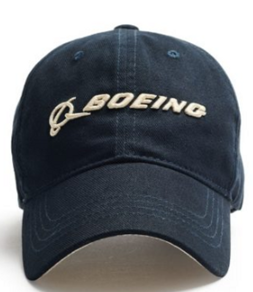 Boeing 3D Embroidered Cap