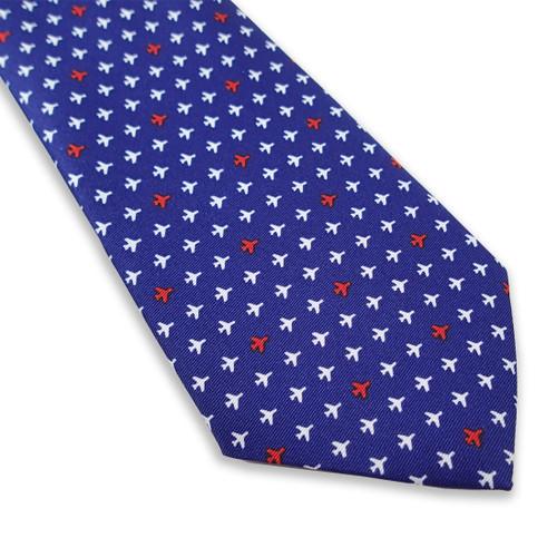 Luso Men's Mini Airplane Tie