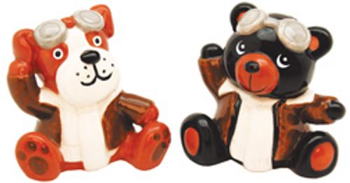Dog and Bear Salt & Pepper Shaker