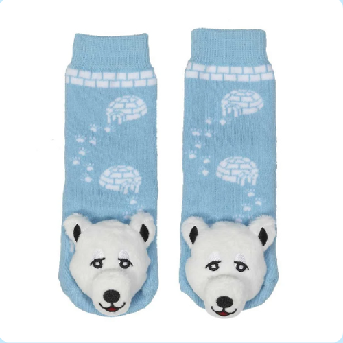 Baby Polar Bear Socks