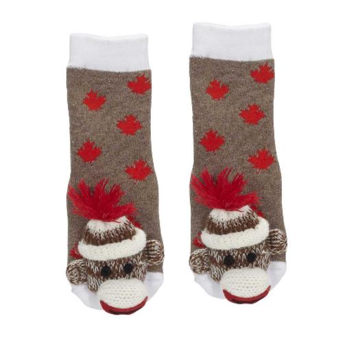 Baby Canada Monkey Socks