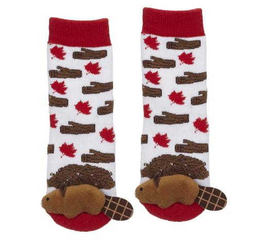 Baby Beaver Socks