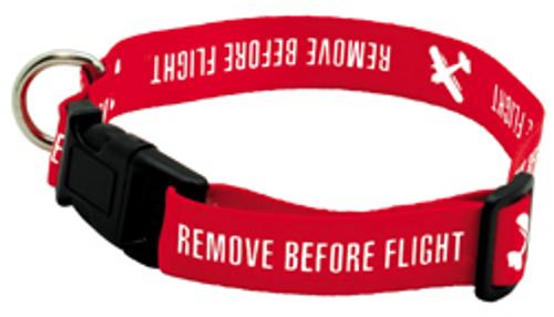 Remove Before Flight Dog Collar - Small