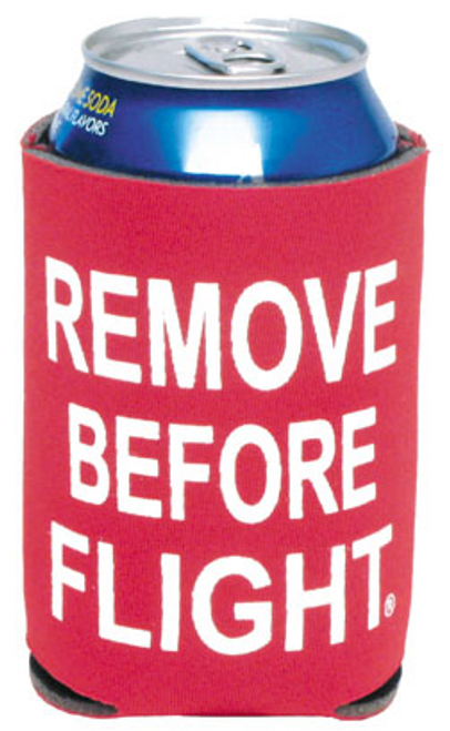 Remove Before Flight Can Cooler
