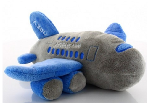 Airbus A380 Airplane Stuffed Toy