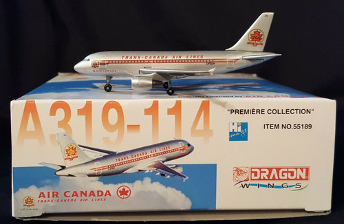 Dragon Wings 1:400 Air Canada A319 (Trans Canada)