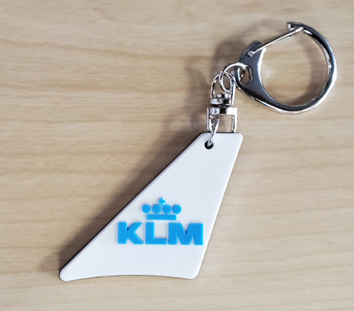 KLM Tail Keychain