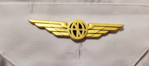 Luso Gold Pilot Wings