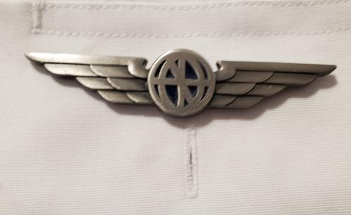 Luso Silver Pilot Wings