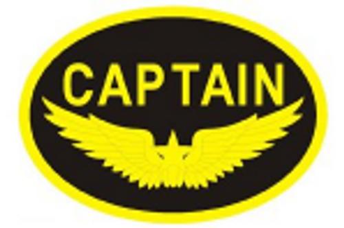 Captain Logo  Iron-On Patch