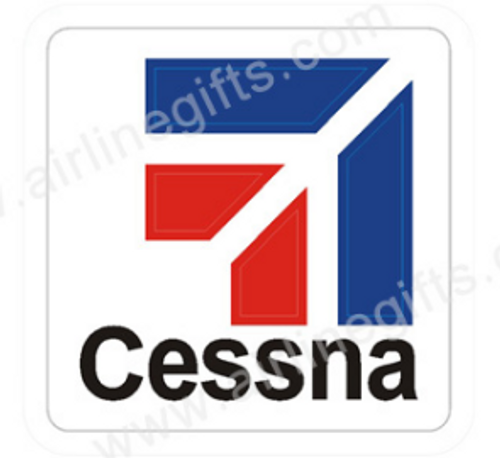 Cessna Logo Iron Patch