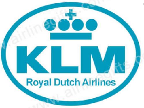KLM Motif Iron Patch