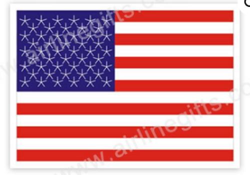 USA Flag Iron Patch