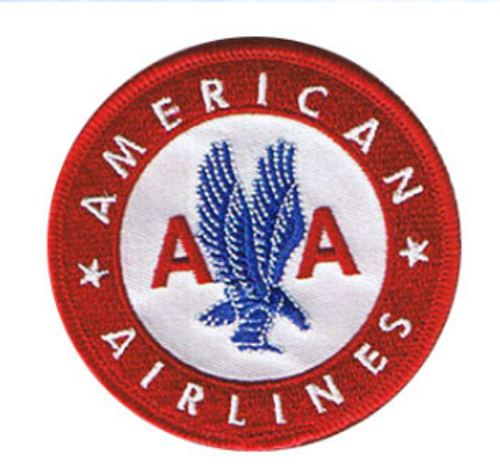 American Airlines Retro Iron Patch