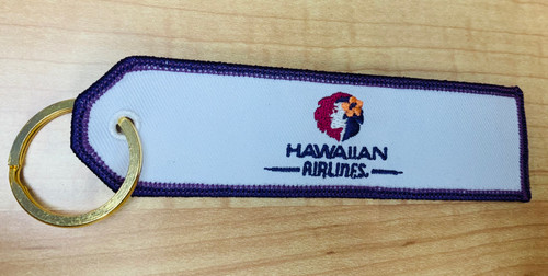 Embroidered Keychain - Hawaiian Airlines