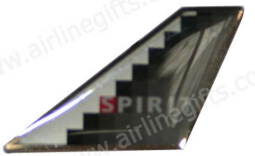 "Lapel pin - Spirit Tail ""Platinum Bullet"""