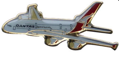 Lapel pin - Qantas A380