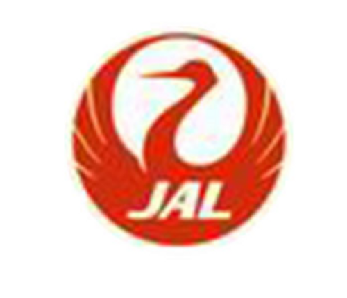 Lapel pin - JAL (Crane)