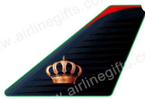 Lapel pin - Royal Jordanian (Gold Crown)