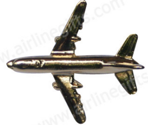 Lapel pin - Boeing 737 - Gold Finish