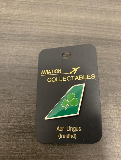 Lapel pin - Aer Lingus tail