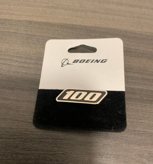 Lapel pin - Boeing 100 Years Logo