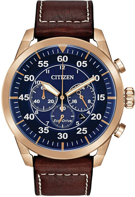 Citizen Avion Chronograph -  Rose Gold