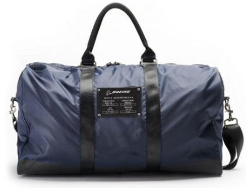 Boeing Navy Duffle Large Kit Bag