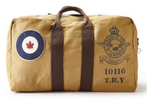 RCAF Large Tan Kit Bag