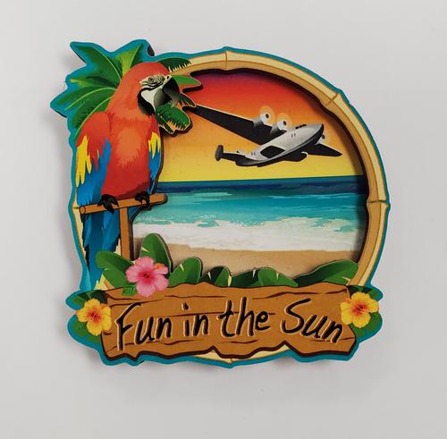 Fun in the Sun Magnet