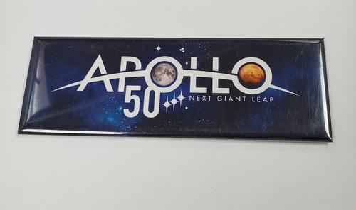 Apollo 50 Next Giant Leap Magnet
