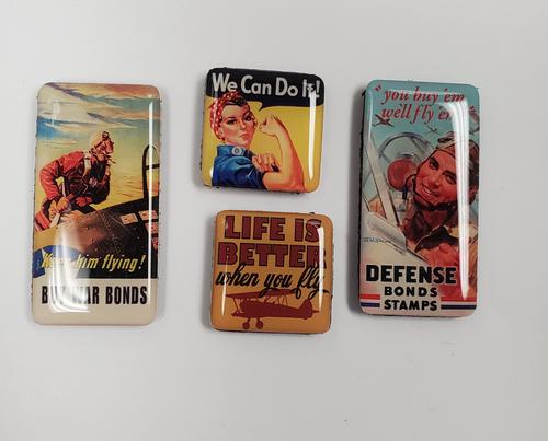 Vintage Boxed Magnet Set