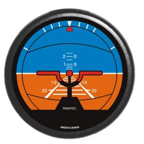Classic Horizon Round Fridge Magnet