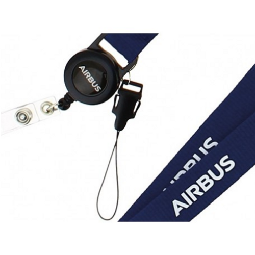 Airbus Retractable Lanyard