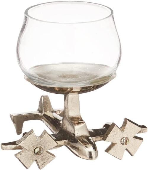 Godinger Airplane Shotglass