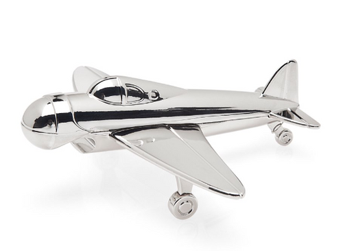 Godinger Airplane Bottle Opener  Silver