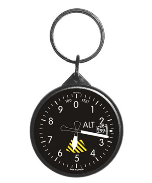 Classic Altimeter Instrument Keychain