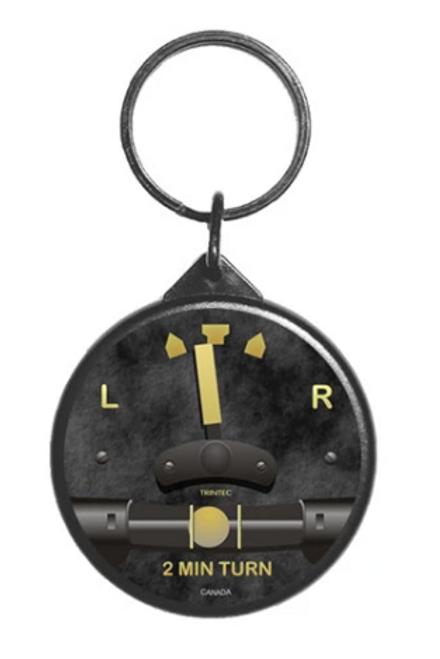 Vintage Turn & Bank Instrument Keychain