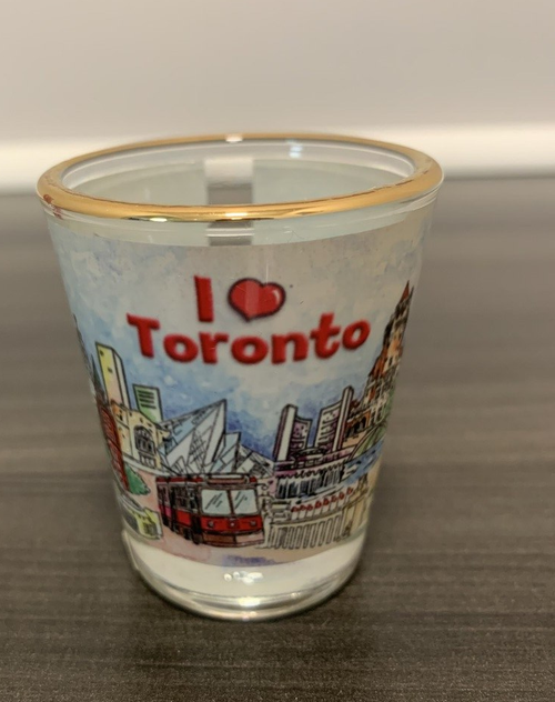 I Love Toronto Shot Glass