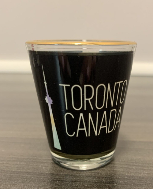 Toronto Canada Tower Shot Glass